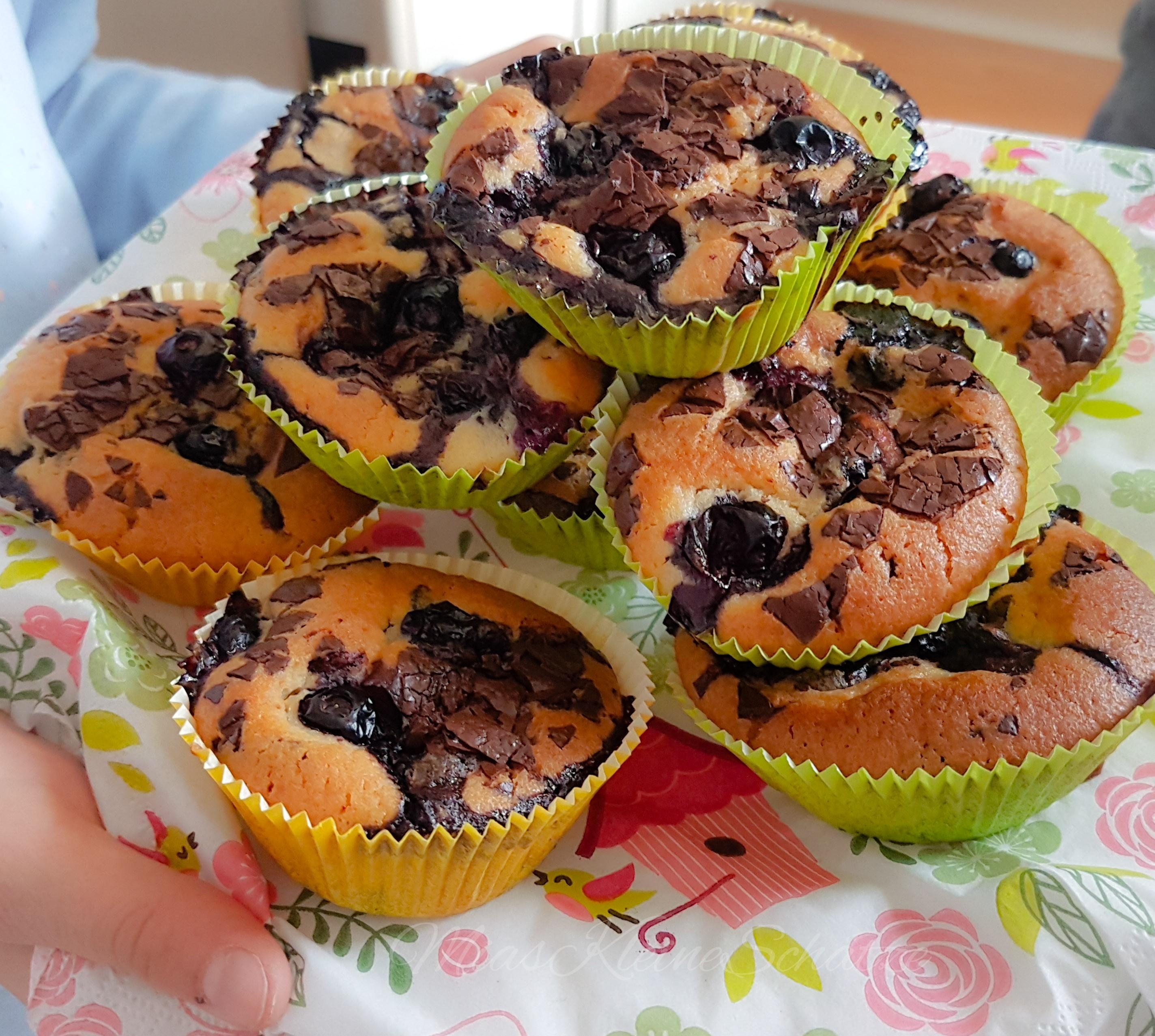 Rezept: Blaubeer – Muffins